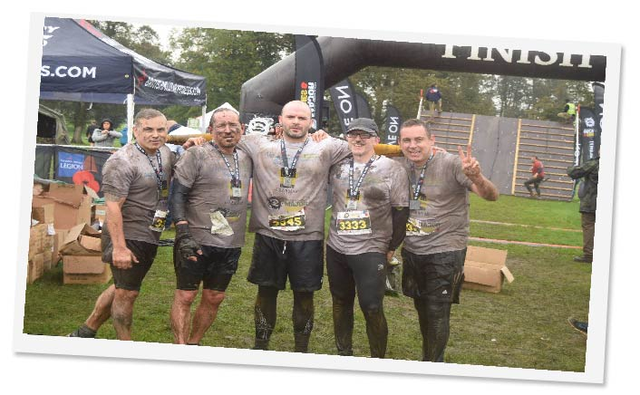 Tough Mudder Finish Line