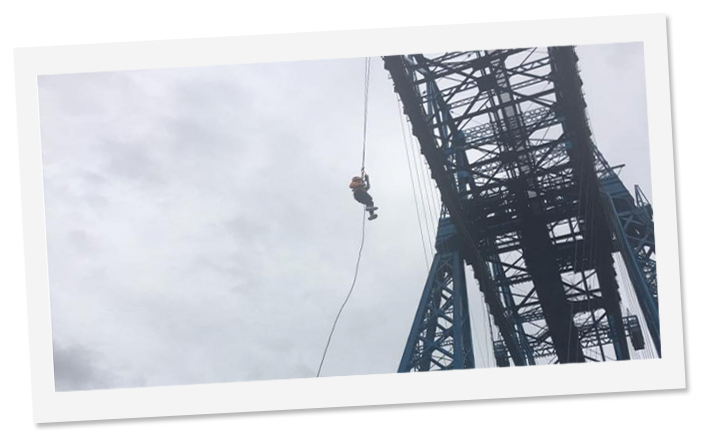 Transporter Bridge Charity Event