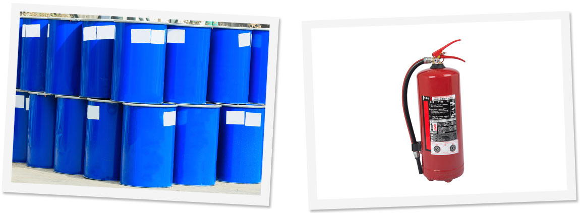 Chemical Drum Labels & Fire Extinguisher Labels