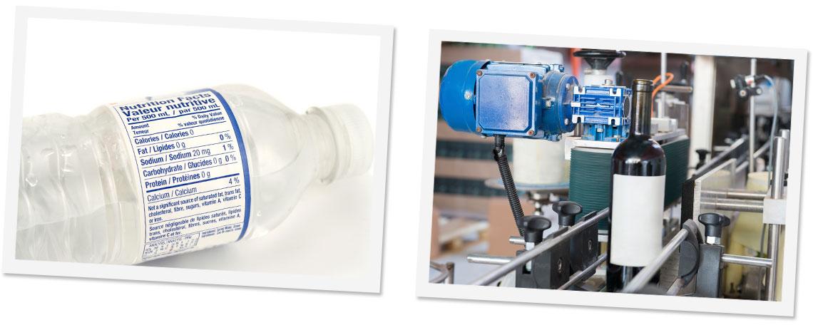 Nutritional Bottle Labels Label Production