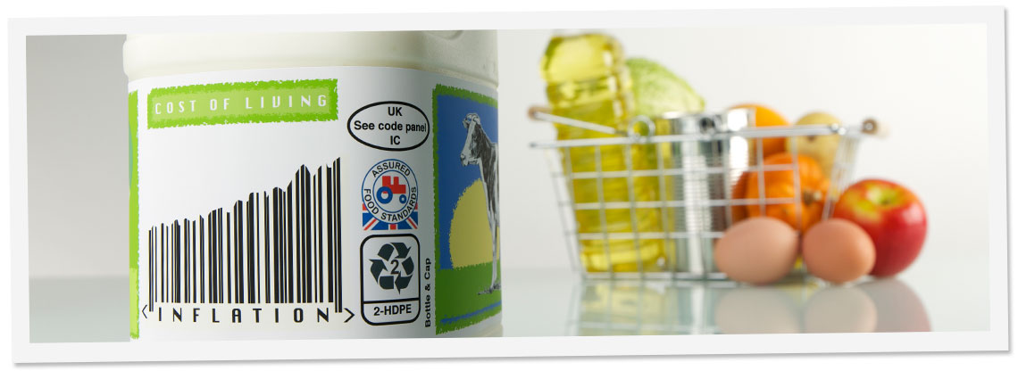 Lower Image - Barcode Labels For Food Packaging